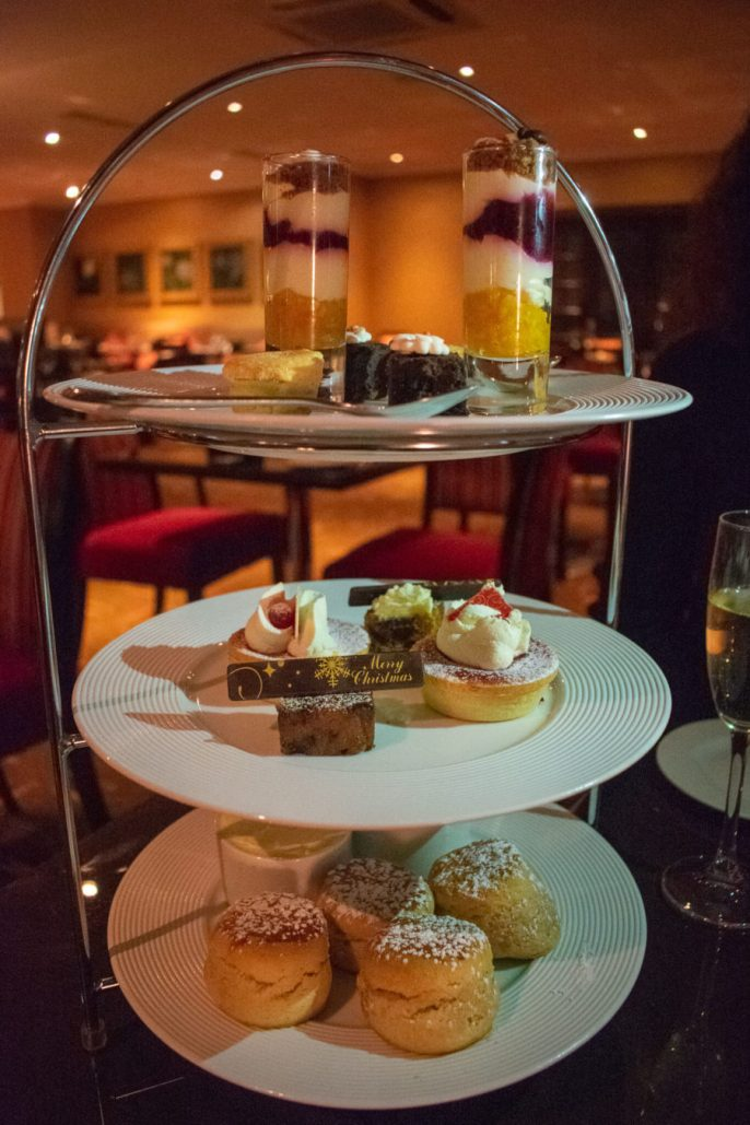 Bottomless Afternoon Tea in London, Petrichor at The Cavendish