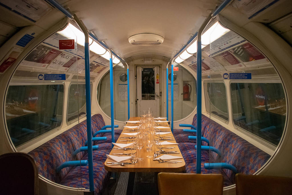 London Tube Restaurant