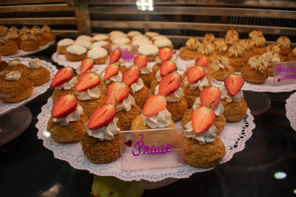 What to eat in Toulouse, choux buns