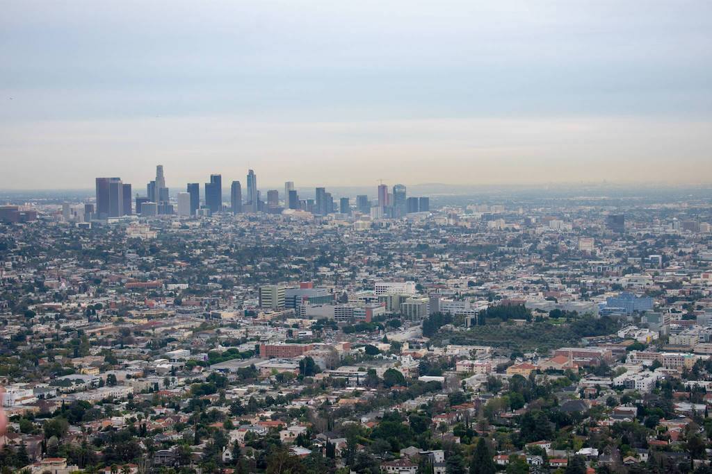 Areas of LA - Los Angeles Skyline