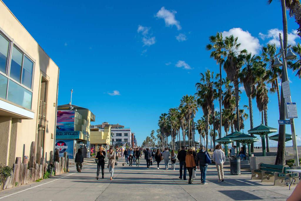Areas of LA - Venice Beach Broadwalk