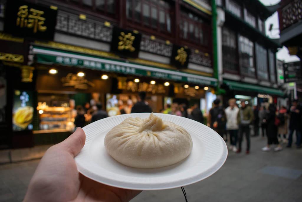 Soup dumpling in Shanghai Old City