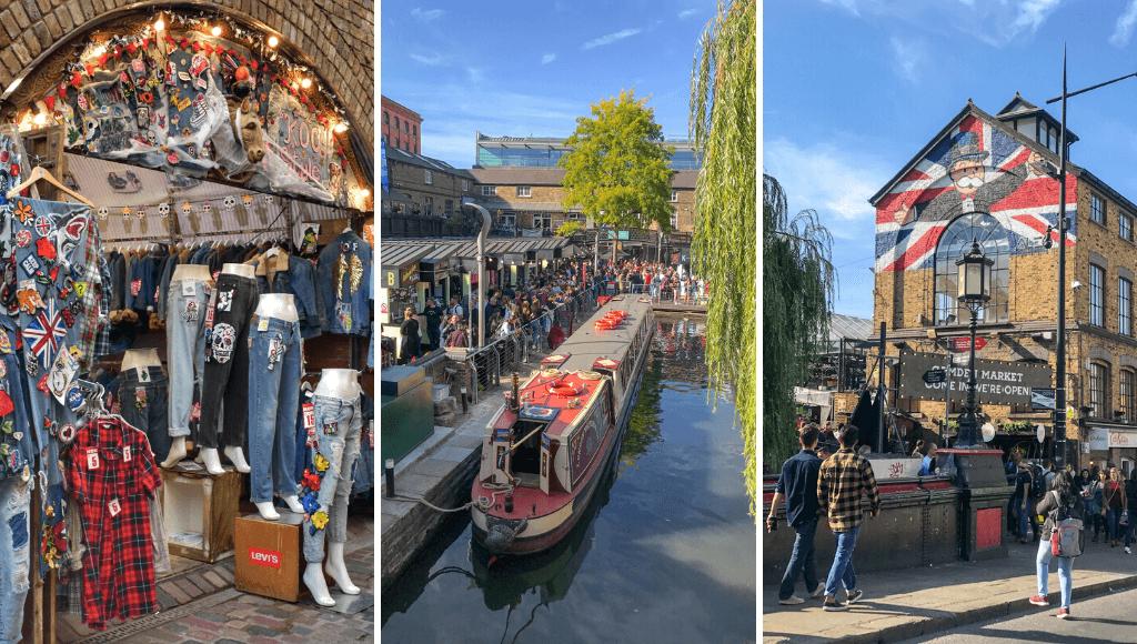 Camden Market London Itinerary
