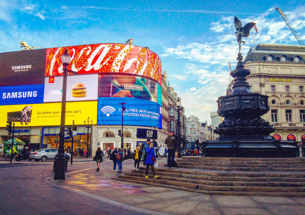 Piccadilly Circus London