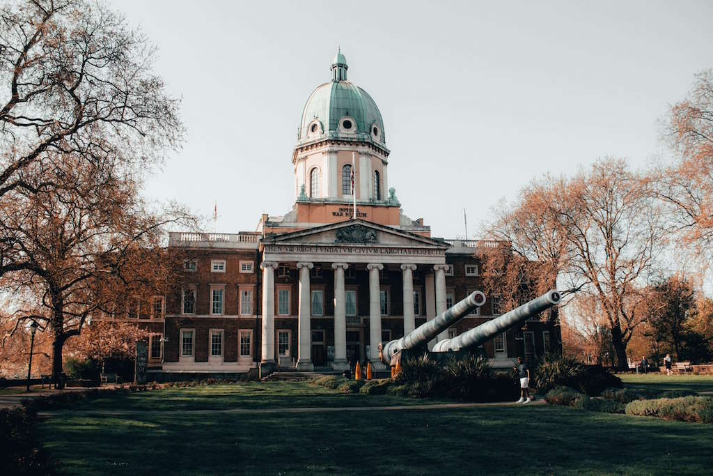 Facade of Imperial War Museum London