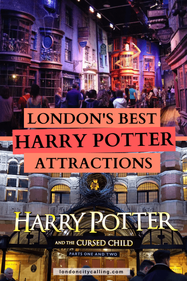 Harry Potter things to do in London pin