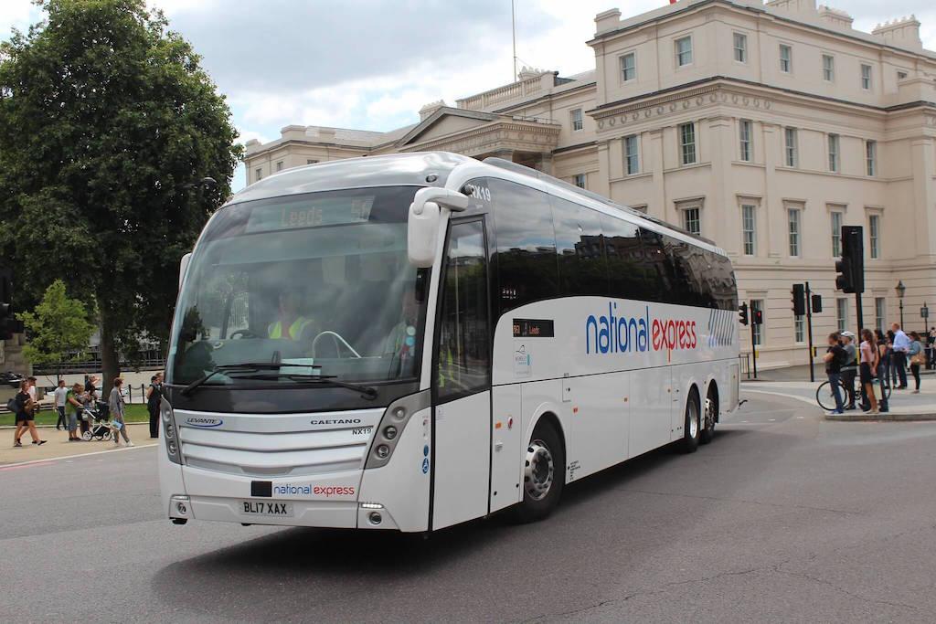 National Express coach London Luton