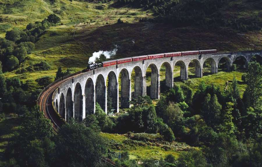 Scotland Railway from Harry Potter