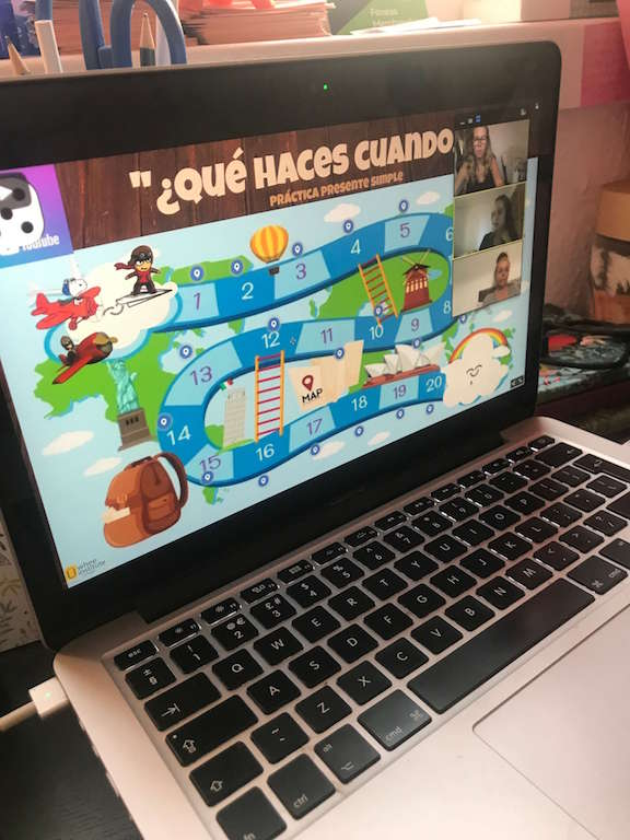 Online Spanish games