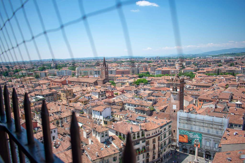 Torre dei Lamberti View Verona