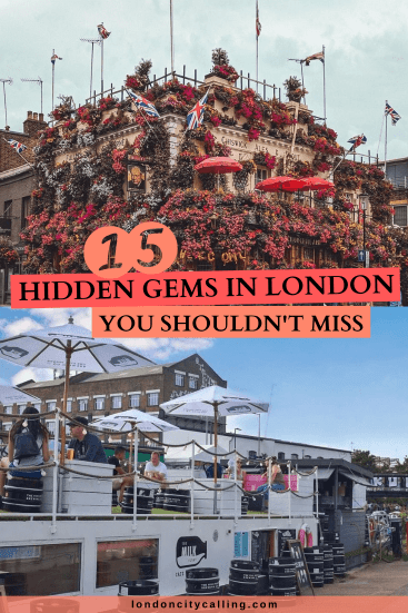 HIDDEN GEMS IN LONDON PIN