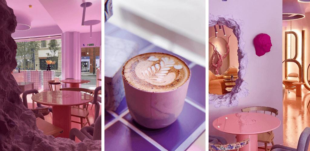 BUSI Cafe London Pink