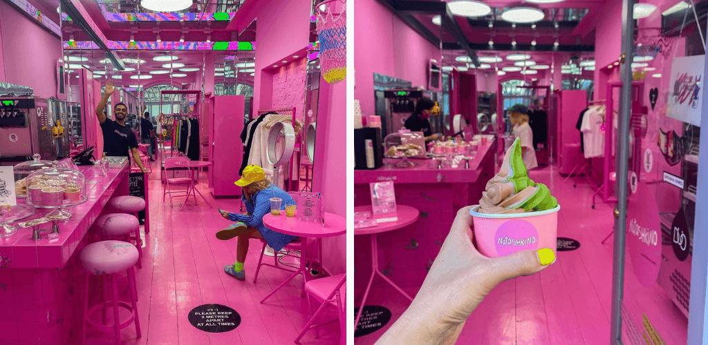 Natashkino pink London