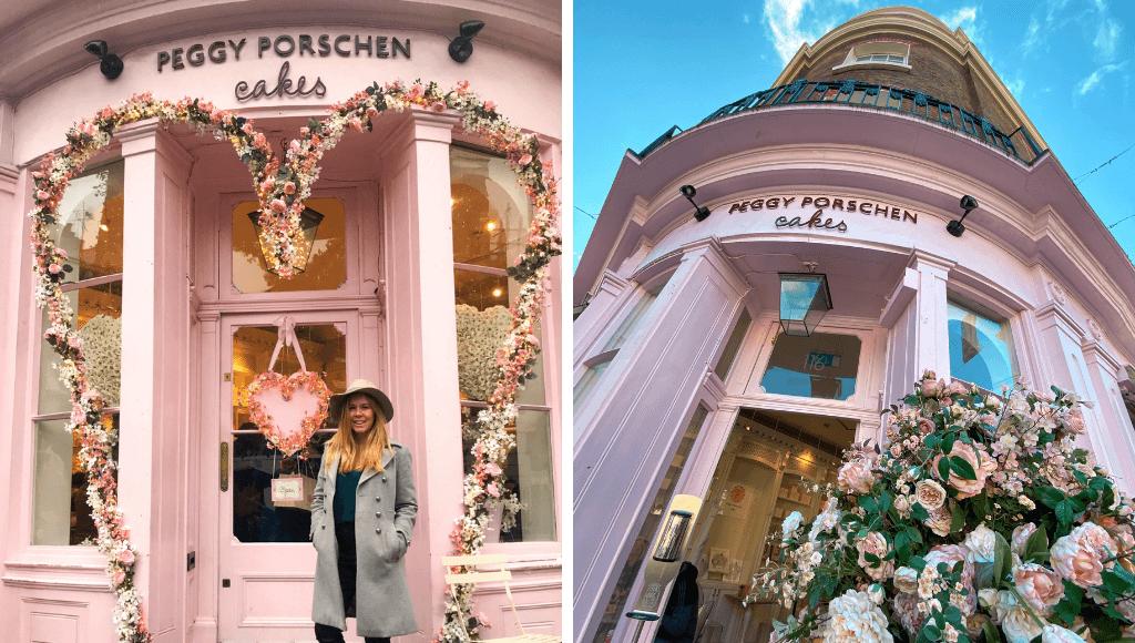 Peggy Porschen pink cafe in London