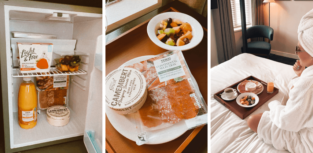 Breakfast in bed at The Resident Soho, best hotels in Soho London