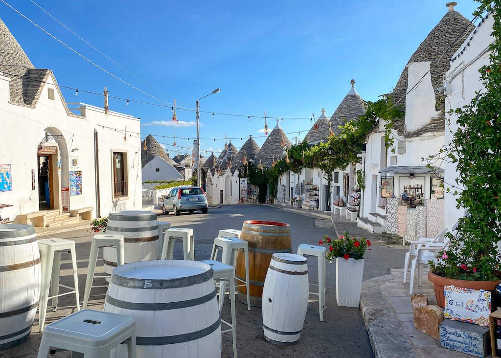 Alberobello wine bar