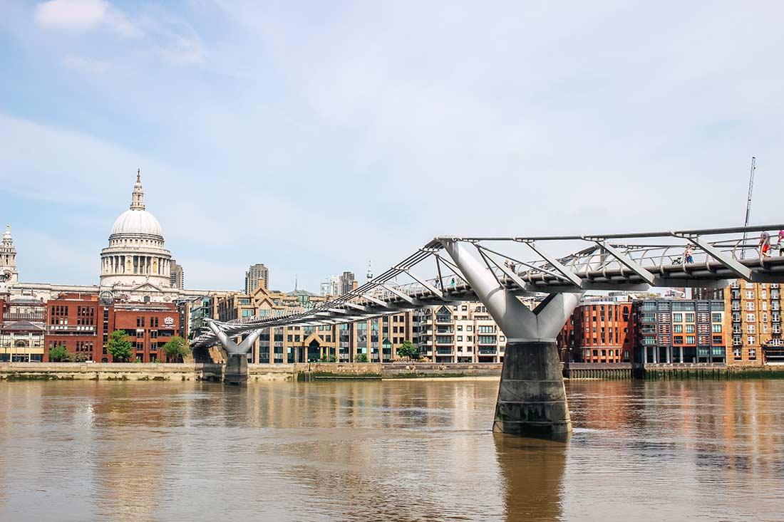 Self guided London walk along the South Bank