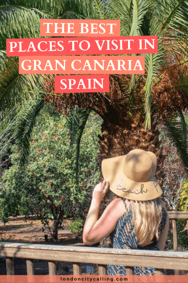 Best places to visit in Gran Canaria pin