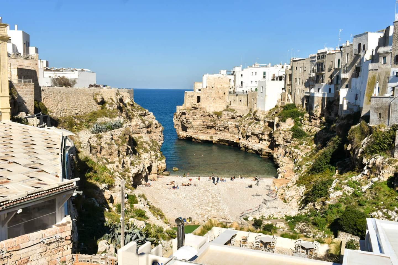 Polignano a Mare beach Puglia
