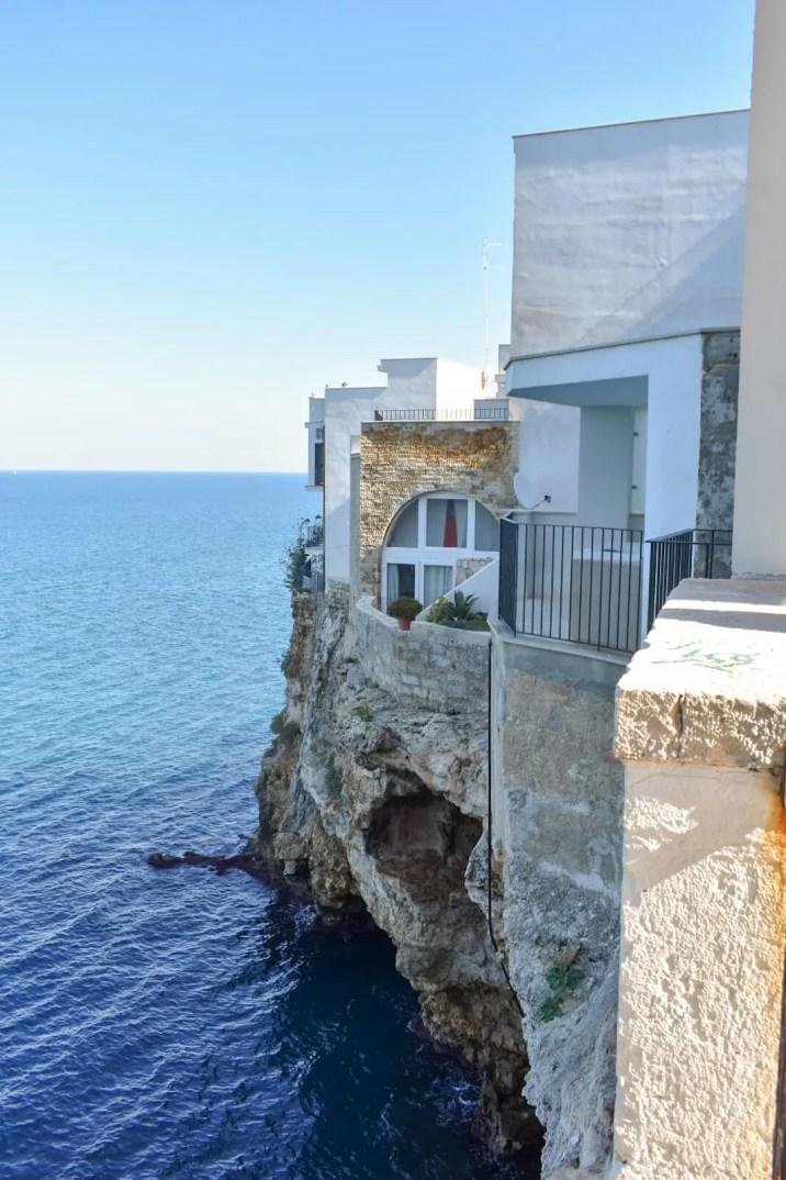 Polignano a Mare Italy coast