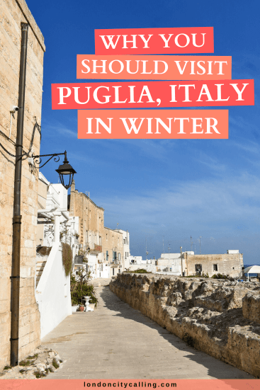 Puglia in winter pin