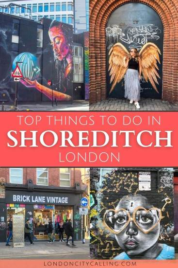 Things to do in Shoreditch London pin