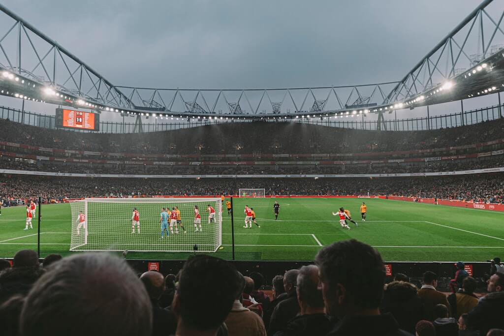 Sports stadium London UK