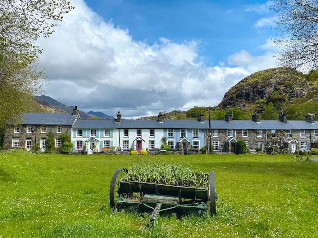 Beddgelert village in Snowdonia