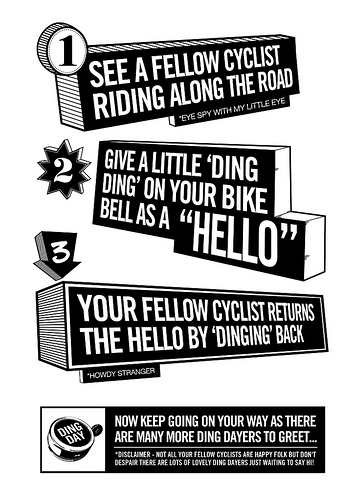 ding day poster explaining what to do