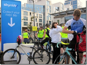London Skyride beginning