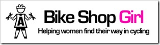 bike shop girl logo