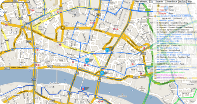 Find London cycle routes