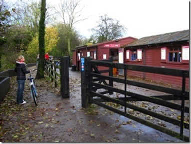 Cycle hire show on the Tissington Trail