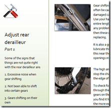 bike maintenance made easy ebook screenshot