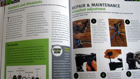 Inside the bicycle maintenance guide for headsets and aheadsets