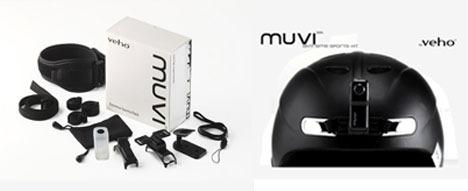 Veho Muvi helmet camera