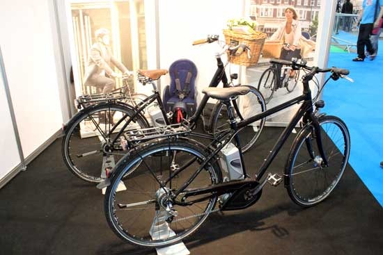 Spenser Ivy at Cycle Show