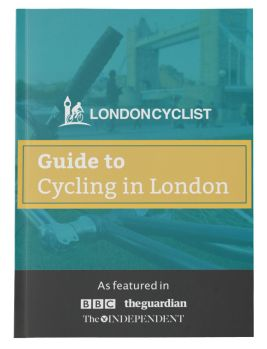 Guide to cycling in London eBook cover
