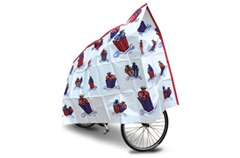 Wrapped up kids bike