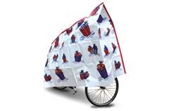 Wrapped up kids bike