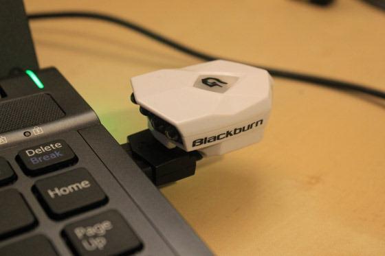 Blackburn flea plugged into my laptop