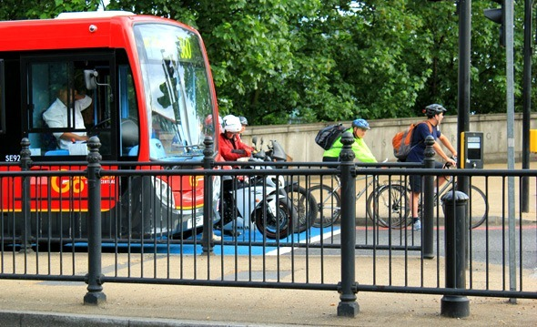 Cycle Superhighway 8 problems