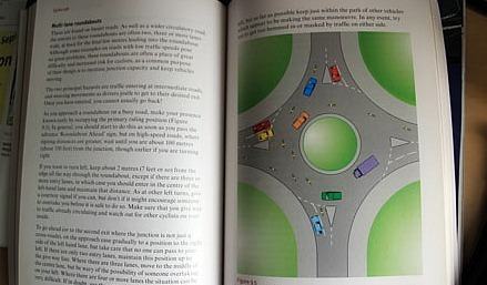 Cyclecraft page on multi-lane roundabouts