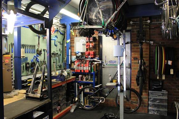 Cloud 9 Cycles bike shop