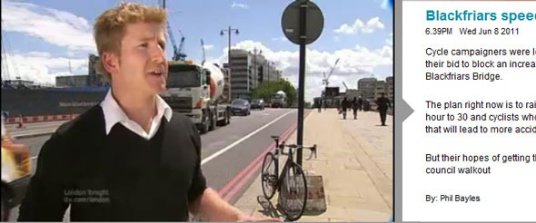 London Cycle campaigners are campaigning to keep the 20mph speed limit in place for the safety of cyclists and pedestrians