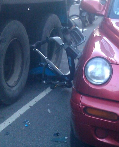 Boris bike accident