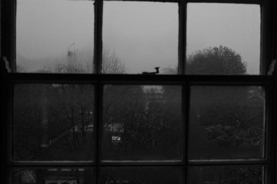Gloomy view of London