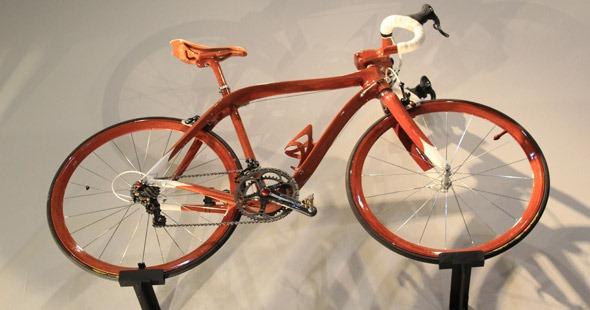 SANOMAGIC Mahogany bicycle