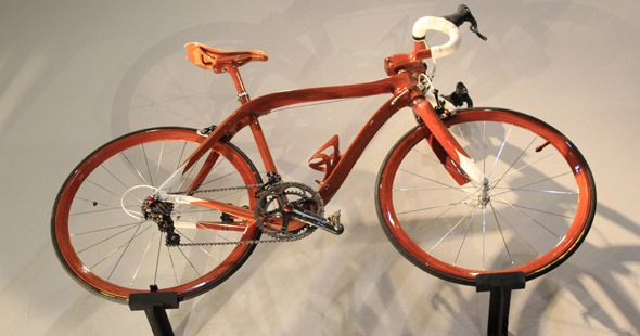 SANOMAGIC Mahogany bicycle