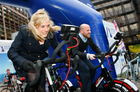 Wattbike used in the City 250 challenge